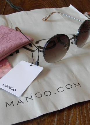 Новые солцезащитные очки под черепаху mango