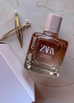 Духи zara tuberose summer/парфуми /туалетна вода /тупалетная вода