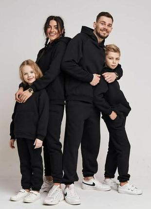 Осень 2021!фемели лук! спортивные костюмы для всей семьи!