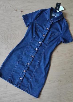 Новое джинсовое платье  стрейчевое   new look