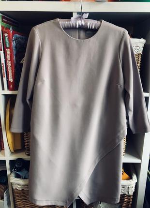 Платье ассиметрия : цвет сезона