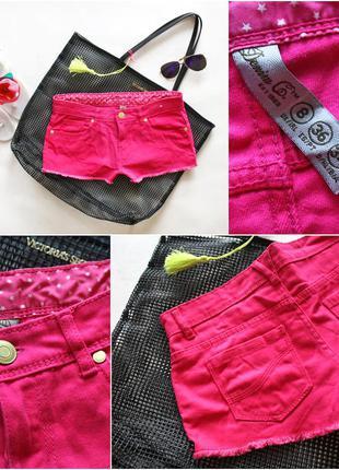 Поделиться:  яркие шорты от denim&co