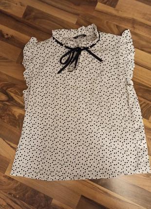 Блуза с жемчужинами shein