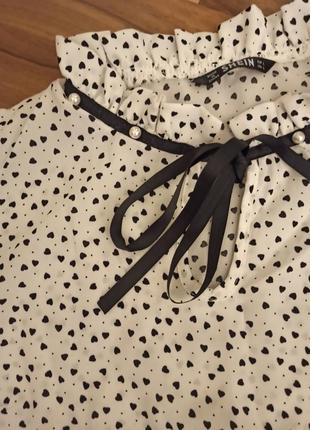 Блуза с жемчужинами shein2 фото