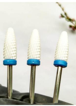 Керамическая фреза для ногтей насадка фрезер