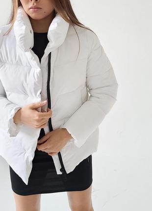 Весенняя дутая куртка