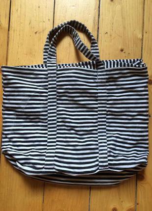 Большая сумка на пляж