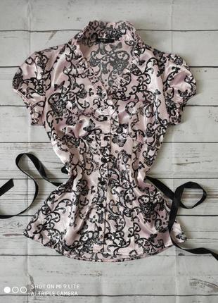 Блуза женская с поясом
