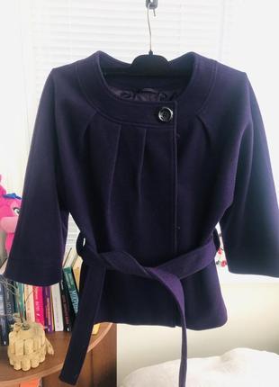 Пальто кимоно тёплое