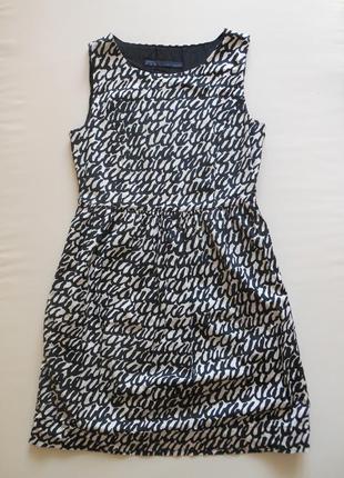 Платье с узором zara