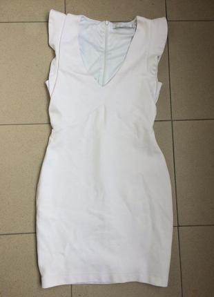 Платье zara xs s белое (massimo dutti, guess, mango )