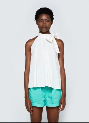 Оригинальная натуральная блуза топ apiece apart