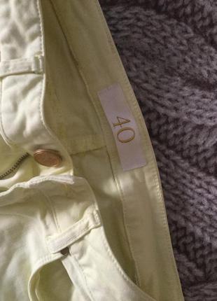 Стрейчевые брюки zara