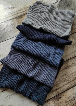 Хомут снуд баф шарф шерсть тёплый зимний демисезонный