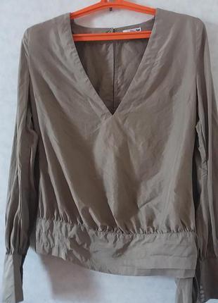 Шикарная блуза нм шелк 100% на с_м