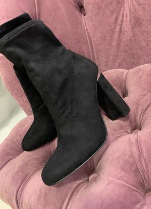 Замшевые ботинки. знижка❤️