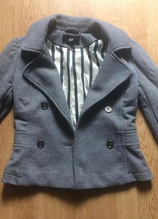 Пиджак -пальто h&m