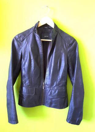 Крутой кожаный пиджак mexx