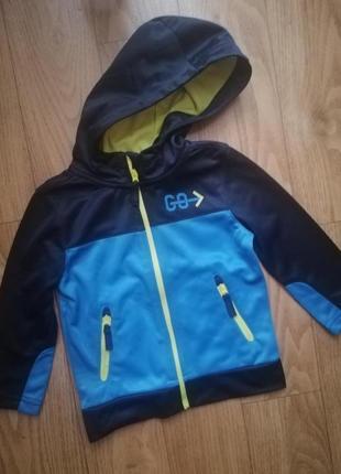 Олимпийка толстовка ветровка кофта dopodopo на 2-3 года