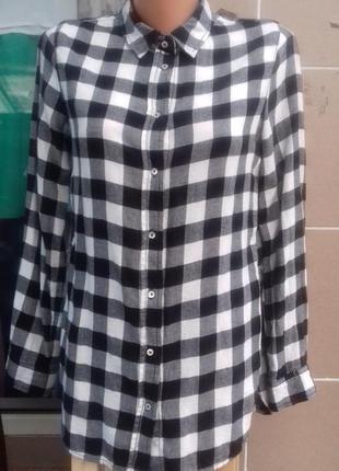 Рубашка в клетку1 фото
