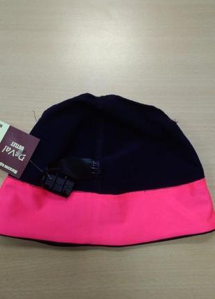 Шапка, спортивная, функциональная, фиолетовая, флисовая, термо, tcm tchibo.4 фото