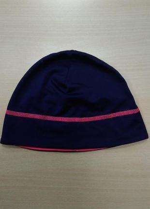 Шапка, спортивная, функциональная, фиолетовая, флисовая, термо, tcm tchibo.3 фото