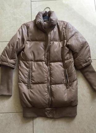 Супер тёплая удлинённая куртка одесса
