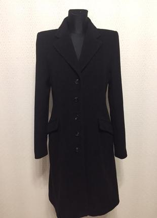 Элегантное классическое пальто (шерсть кашемир) от h&m, размер евр 38, укр 44-46
