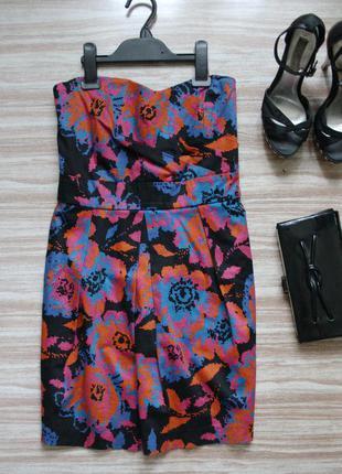 Стильное коктейльное платье №4761 фото