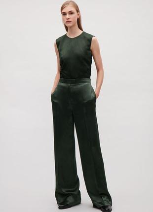 Супер модные широкие брюки палаццо высокая посадка сos оригинал