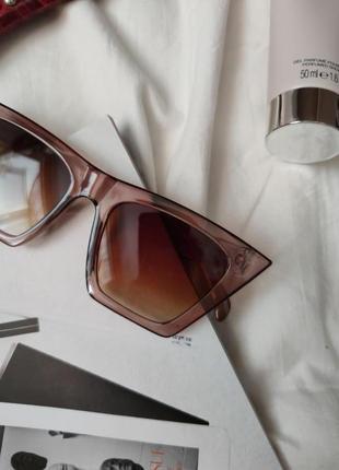 Очки окуляри стильные карамельные цветные трендовые новые