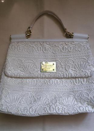 Оригинал сумка dolce gabbana d&g