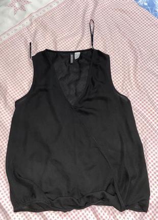 Блуза базовая легкая , шикарная - s m
