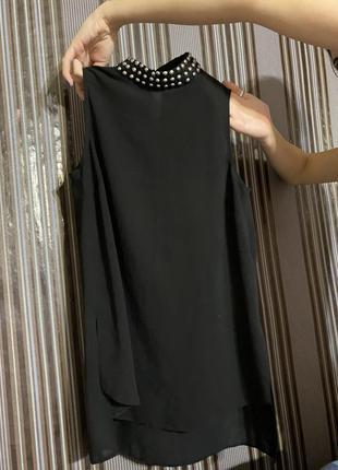 Шикарная легкая блуза без рукава - sm
