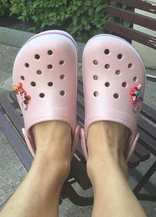 Кроксы crocband pearl crocs 💅
