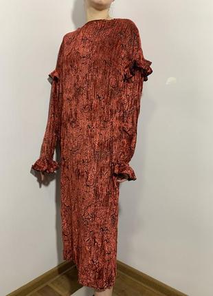 Модное платье велюр оверсайз