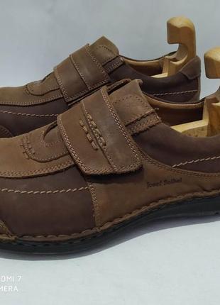 Кожаные туфли josef seibel