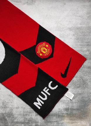 Шарф фанатский роза розетка nike manchester united