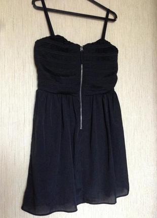 Черное платье amisu m l
