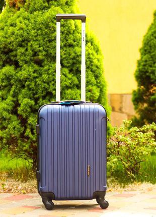🔥акция чемодан пластиковый дорожный средний без предоплаты! валіза середня доставка