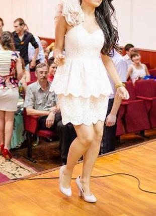 Стильное платье на выход,  h&m