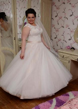 688372e41c0896e Свадебные платья большого размера 2019 - купить недорого вещи в ...