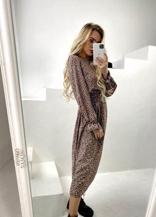 Платье горох🖤