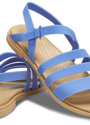 Сандалии crocs tulum sandal, w8, w9