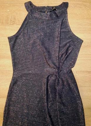 Платье в пол с разрезом esmara