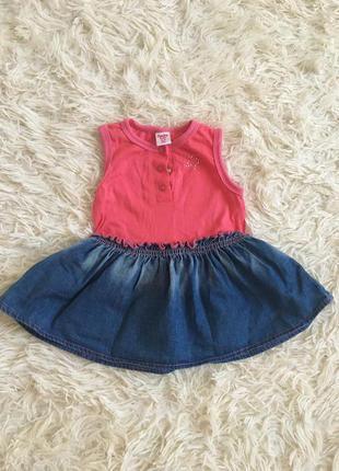 Легенькое платьице для маленькой модницы