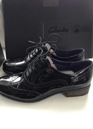 Туфли clarks, новые
