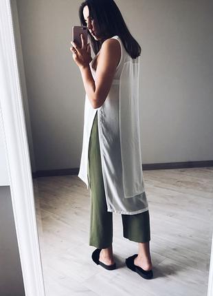 Длинная блуза h&m