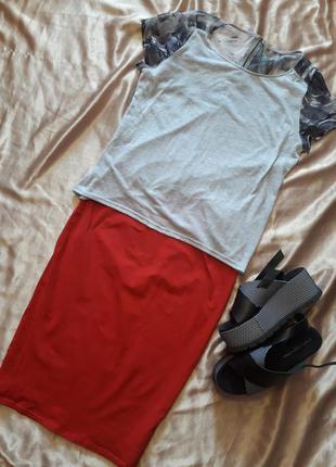 Легкая футболка-блуза