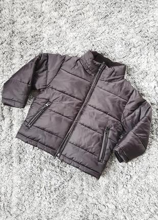 Куртка для хлопчика, куртка для мальчика, чёрная куртка, чорна курточка